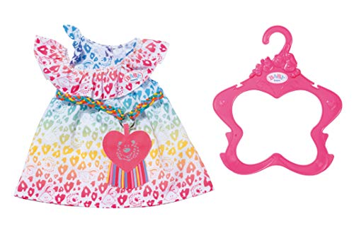Zapf Creation 829219 BABY born Rainbow Leo jurk poppenkleding 43 cm
