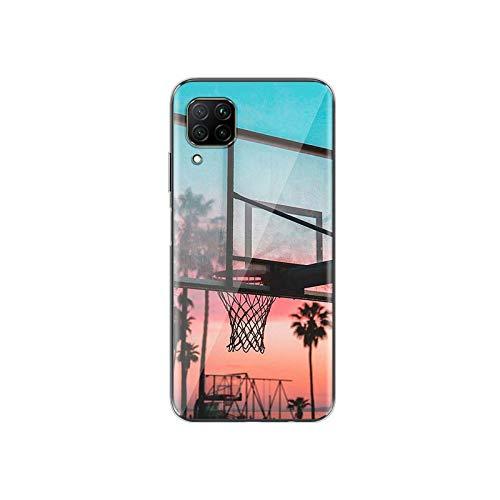 Deportes de baloncesto caliente para Huawei P40 P30 P20 P10 P9 P8 Lite 5G 4G E Pro Plus Lite Mini 2019 2017 Funda estilo 05-para Huawei P40 Lite