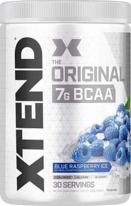 Scivation Xtend BCAA 30 Servings (Blue Raspberry Ice)