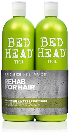Bed Head by Tigi Urban Antidotes Re-Energise Daily Shampoo and Conditioner 2 x 750 ml