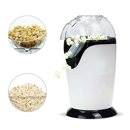 Best Prices! IhDFR 1300W Electric Popcorn Maker | Makes Hot, Fresh, Healthy & Fat-Free Theater Style...
