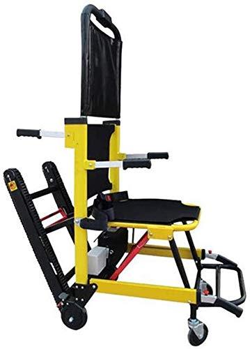 GLJY Verwendung in Notgebäuden Klappbare Trage Treppensteigender Rollstuhl, Klappbare Bequeme Trage Erste Hilfe und Heimtransfer von Patienten auf und ab Treppen