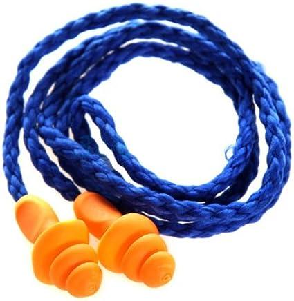 3M 1270 圣诞树型带线耳塞 防水 防噪音耳塞 3付装