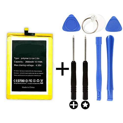 Bateria para DOOGEE F5 + Kit Herramientas/Tools   Capacidad 2660mAh