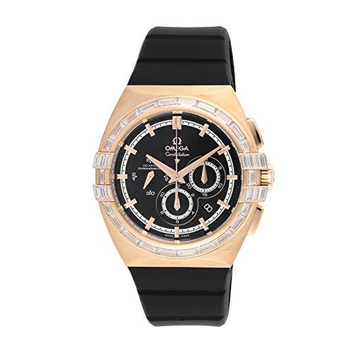 [オメガ] 腕時計 121.57.41.50.13.001 メンズ ブラック [並行輸入品]