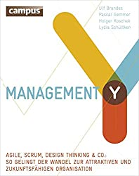 Projektmanagement Bücher 2015: Management Y: Agile, Scrum, Design Thinking & Co.​