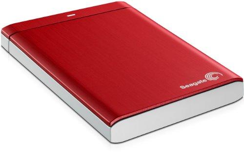 Seagate Backup Plus Portable STBU500203 Externe Festplatte 500GB (6,4 cm (2,5 Zoll), USB 3.0) rot