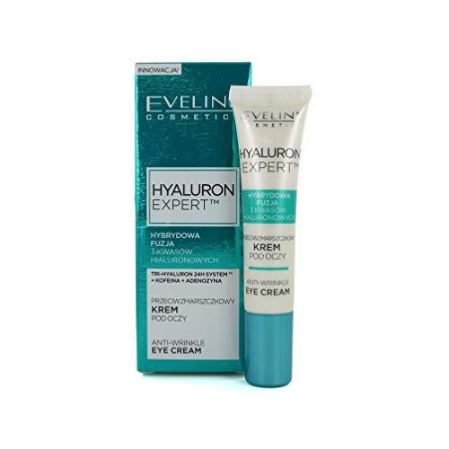 Eveline Cosmetics Hyaluron Clinic, Crema Anti Arrugas Multigenerante para Ojos, 20 ml