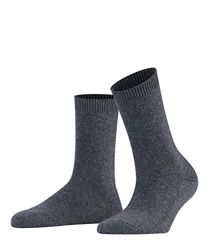 FALKE Damen Socken Cosy Wool X-Mas, Merinowolle/Kaschmirmischung, 1 Paar, Grau (Greymix 3399), Größe: 39-42