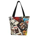 エコバッグ トートバッグ 買い物バッグ 買い物袋 スウェーデン、ヨーテボリ2013年3月24日ビートルズシングルカバー おせち お歳暮 エコバッグ トートバッグ 買い物バッグ 買い物袋 28X33CM