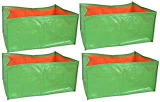 voolex Polyethylene Grow Bags, 24 x 12 x 9 inch, 4 Pieces