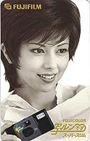 テレホンカード テレカ 沢口靖子 富士フイルム 写ルンです スーパースリム 50度数