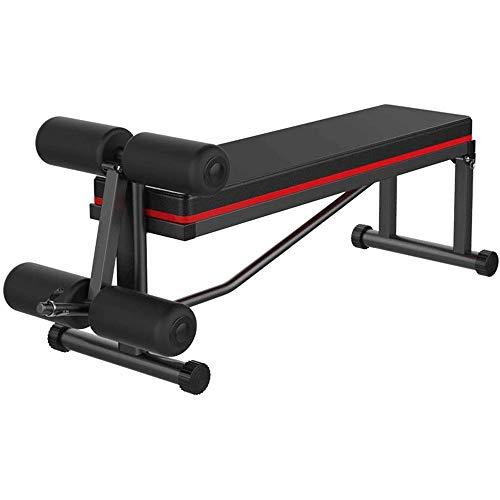 FQCD Hantelbank Finer Formular Verbesserte Multi-Funktions-Bank for Full All Body Workout-Hyper Back Extension, Sit Up Bench