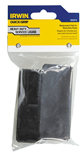 IRWIN Tools QUICK-GRIP Replacement Pads for XP600 Clamps, 2-Pack (1826576),Black,Small