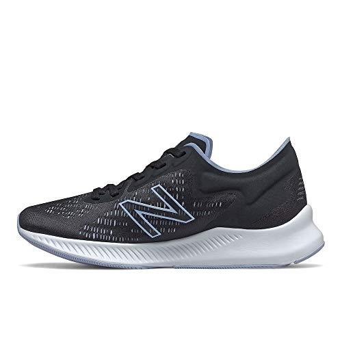 New Balance Women's Dynasoft Pesu V1 Running Shoe, Black/Moon Dust, 7.5