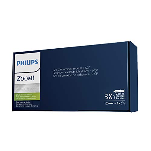Philips Zoom Take Home Patient Care Kit NiteWhite 22% CP (3 syr) (Philips Zoom Nite White 22 3 Syringes)