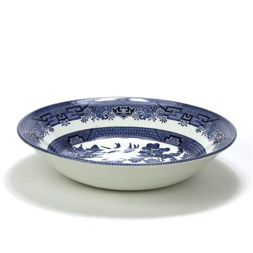 Blue Willow by Churchill, Stoneware Vegetable Bowl, Round