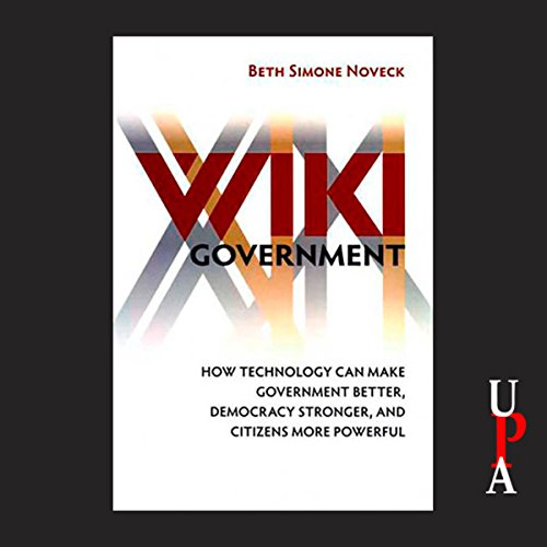Wiki Government audiobook cover art