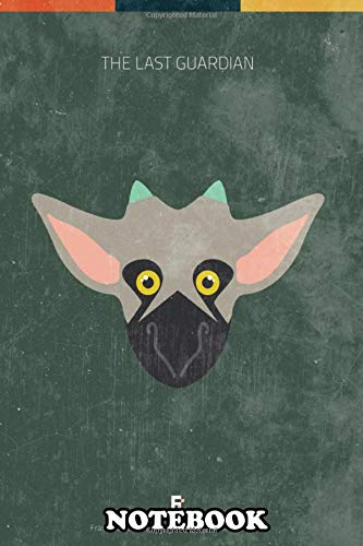 Notebook: The Last Guardian Minimal Videogame Poster , Journal for Writing, College Ruled Size 6