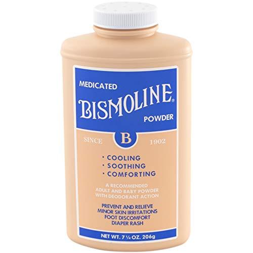 Bismoline Medicated Powder, 7 1/4 oz - Buy Packs and Save (Pack of 3)