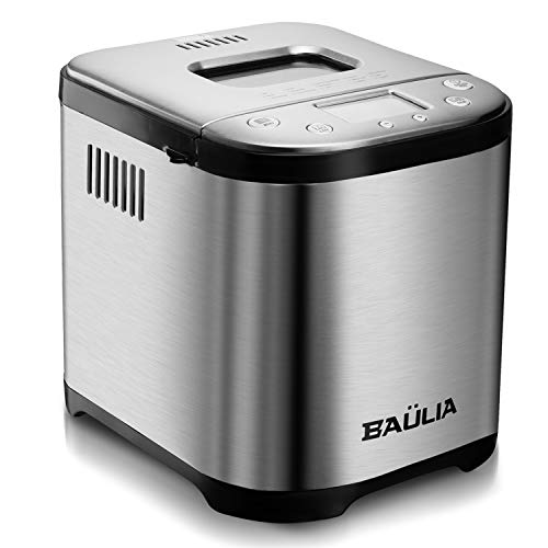 Why Choose Baulia Automatic Bread Maker Machine - Sugar-Free Functions 15 Programmable Bread Types S...