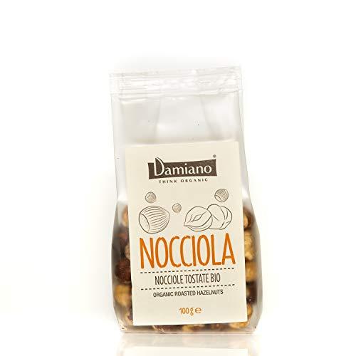 Nocciole Tostate, Biologiche - Senza Glutine e Vegan Friendly - Sacchetto da 100g