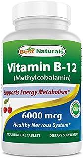 Best Naturals Vitamin B12 6000 mcg 120 Tablets