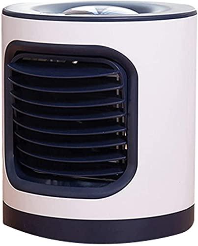 XJYDS Mini dispositivo di raffreddamento ad aria portatile, aria condizionata 3 in 1, con ventilatore da usb silenzioso, raffreddatore compatto 3 velocità, confortevole, per camera da letto per uffici