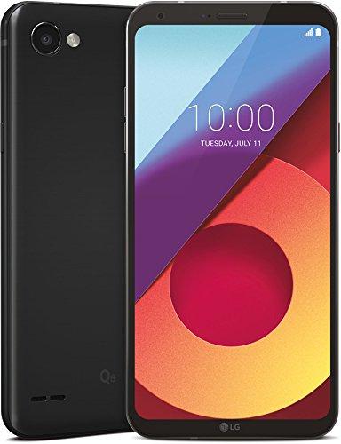 LG Q6 Smartphone Dual SIM FullVision 5.5'', Batteria da 3000 mAh, Fotocamera 13 MP + 5 MP Grandangolare, Octa-Core 1.4 GHz, Memoria 32 GB, 3 GB RAM, Android 7.1.1 Nougat, Astro Black [Italia]