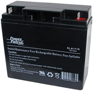 Power Patrol 12V 17Ah SLA Rechargeable Battery for APC Systems