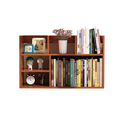 DS- Bibliothèque Bibliothèque - Étagère de Bureau pour étudiant Bibliothèque pour Enfants Bibliothèque pour dortoir Bibliothèque de Bureau && (Couleur : B, Taille : 60x20x50cm)
