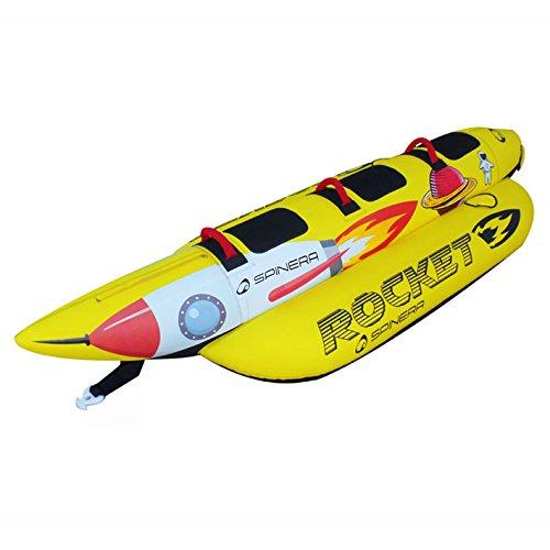 SPINERA Rocket 3 - Tube, Wasserring, Wasserreifen, Towable für 3 Personen