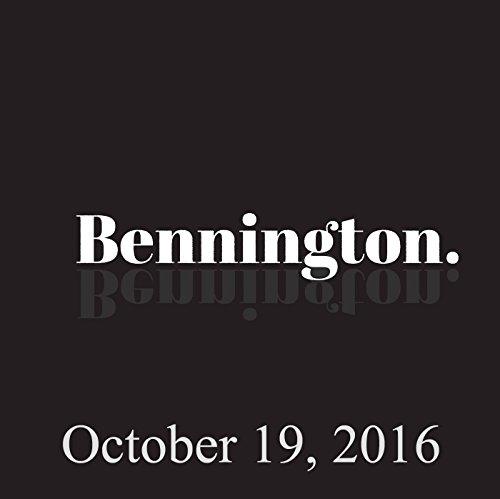 Bennington, Nick DiPaolo, October 19, 2016 cover art