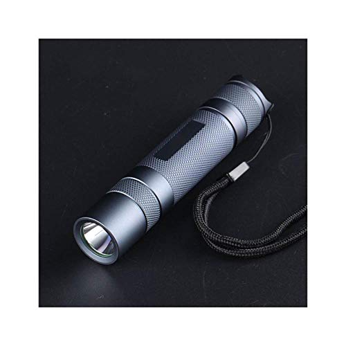 Gray S2+ SST40 1800lm 5000K 6500K Temperature Protection Management 18650 Flashlight for Camping Hunting LED Torch,6500K