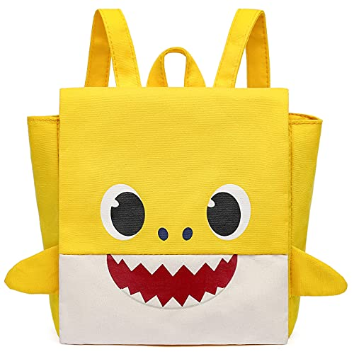 Mochila para Niños Baby Shark - Mochila Infantil para Niños 3D Mochila Impermeable Bolsa para la Escuela Dibujos Animados Mochila Infantil Viaje Mochila para Guardería Preescolar Primaria Viajar