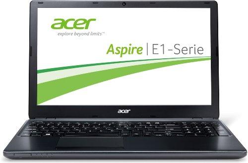 Acer Aspire E1-570G-33218G50MNKK 39,6 cm (15,6 Zoll) Notebook (Intel Core i3 3217U, 1,8GHz, 8GB RAM, 500GB HDD, NVIDIA GT 720M, DVD, Win 8) schwarz