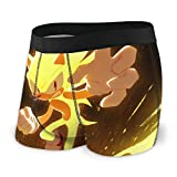 Kuai Sonic The Hedgehog Men's Boxer Briefs Underwear for Men Boys...