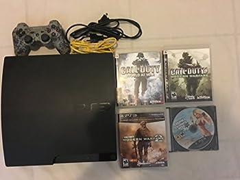 Sony Playstation 3 PS3 Slim 160 GB Firmware 3.55 OFW - Black