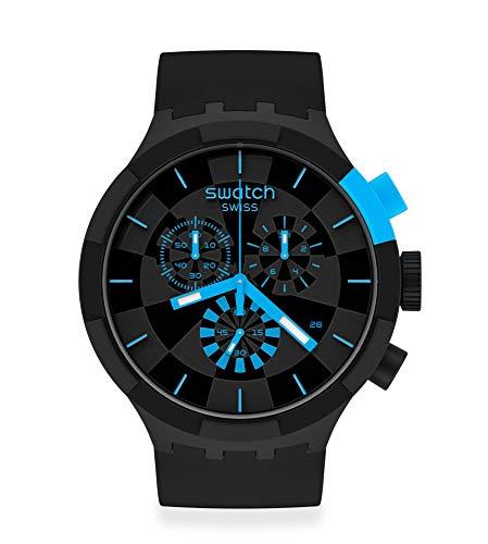 [スウォッチ] 腕時計 スウォッチ SWATCH BIG BOLD CHRONO SB02B401 ブラック