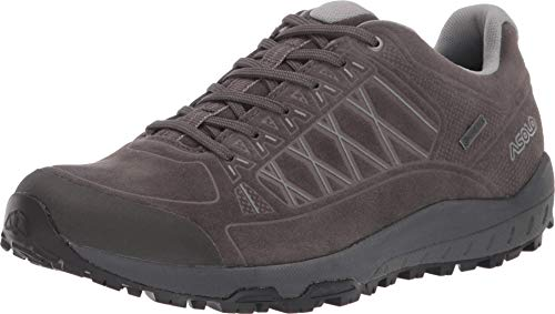 Asolo Women's Grid GV Leather Hiking Shoe Beluga 7