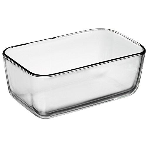 WMF Top Serve Ersatzglas rechteckig 21 x 13 x 8 cm, Ersatzteil für Frischhaltedose, Aufbewahrungsbox Glas, Aufschnittbox Glas