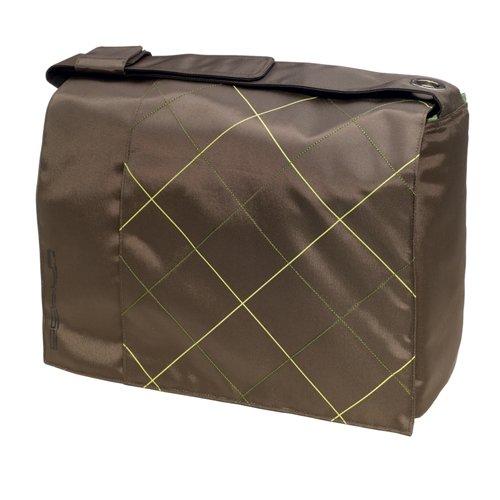 Golla G353 notebooktas Block 39,1 cm (15,4 inch) bruin