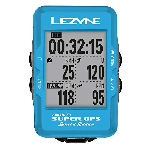 LEZYNE Computer Super GPS Special Edition Blau,...
