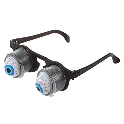 Gafas de Broma con Ojos Saltones - Para Halloween y Carnaval - Juguete para Asustar