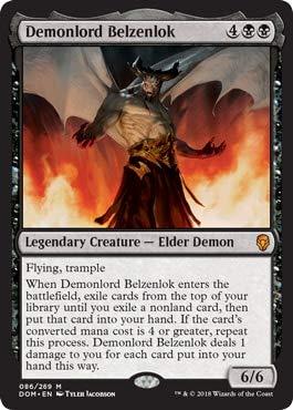 Magic The Gathering Demonlord Belzenlok - Belzenlok, Signore Dei Demoni - Dominaria