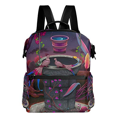 DEZIRO A Magic Garden School Bags Mochilas Daypack Bolsa de viaje