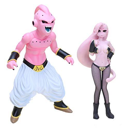 CXNY Anime Dragon Ball Z Super Saiyan Majin Buu Boo Mujer Lady Girl Buu PVC Figura de Accion Modelo de Coleccion Dragon Ball Toy