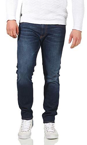Diesel TR Jeans Straight, Blu (01 Blue Denim 084yy), W33/L32 Uomo