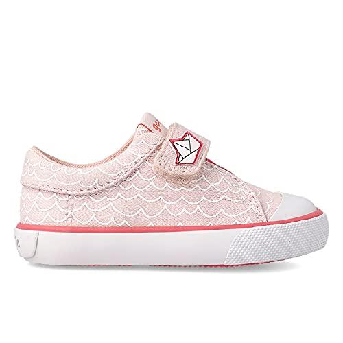 GARVALÍN - Zapatillas Garvalín para: Niñas Color: B-Rosa(Pique) Talla: 24