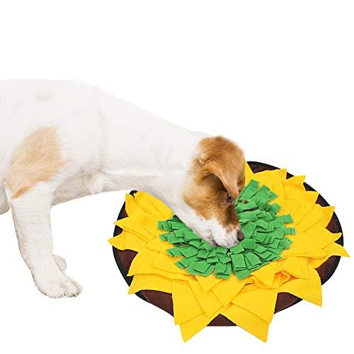 Schnüffelmatte für Hunde, Schnüffelteppich Hund interaktives Puzzle-Spielzeug, maschinenwaschbar, Aktivitätsmatte für Futtersuche für Katzen und Hunde